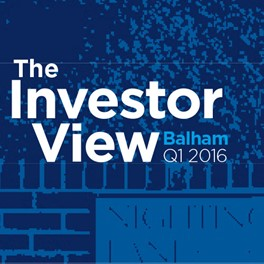 The Investor View Balham Q1 2016