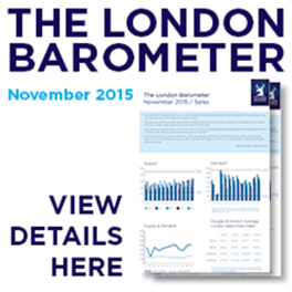 The London Barometer November 2015